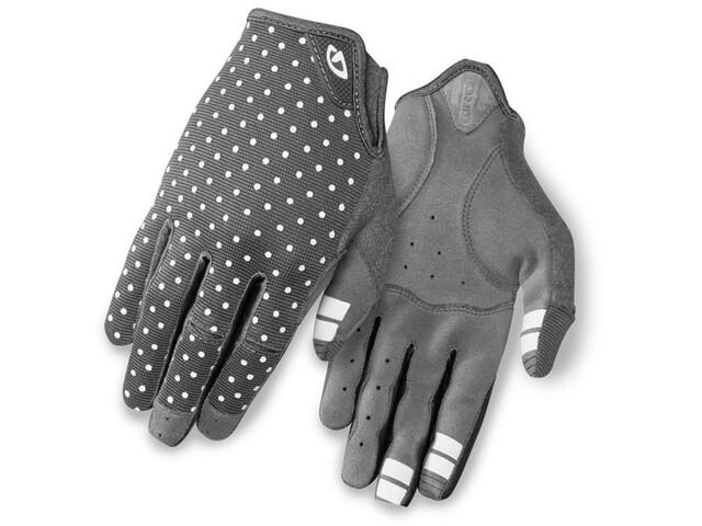 Giro LA DND Handschuhe Damen dark shadow/white dots